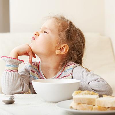 הפרעות אכילה בקרב תינוקות וילדים